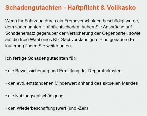 Haftpflichtschaden bei 20095 Georgswerder (Hamburg)